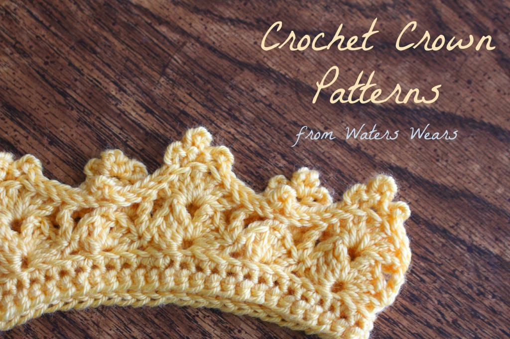 Crochet Crowns Two Free Patterns Tales Of Butterflies